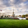 Atlanta Temple Lawn View