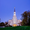 Boston LDS Temple Early Morning