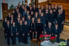 The Faith and Life Women's Chorus at the 2005 Christmas Concert at the First Mennonite Church in Winnipeg, Manitoba, Canada.