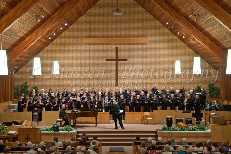 The Spring 2010 Faith and Life Choral Concert at the Springfields Heights Mennonite Church in Winnipeg, Manitoba, Canada.
