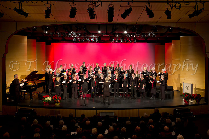 The Faith and Life Women's Chorus 2012 Christmas Concert at the PW Enns Concert Hall in Winkler, Manitoba, Canada.