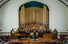 The Faith and Life Women's Chorus at the Crescent Fort Rouge United Church in Winnipeg, Manitoba, Canada.