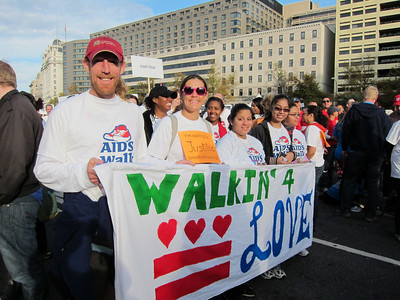 AIDS Walk 2012 - October 27, 2012