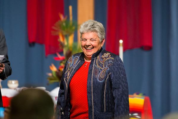 Babs Miller's Ordination