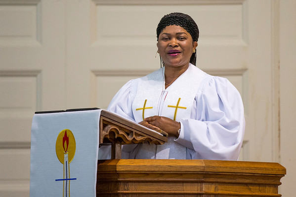 Rachel Delivers the Sermon - May 2014