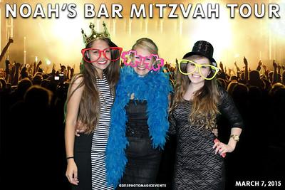 Noah's Bar Mitzvah Tour