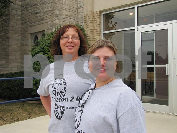 Martha Norman and Christy Headley