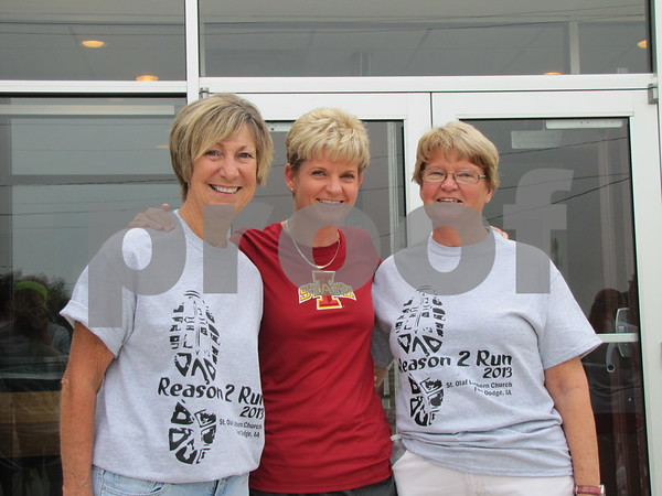 Ruth Yoder, Jill Matthes, and Shirley Hardcastle
