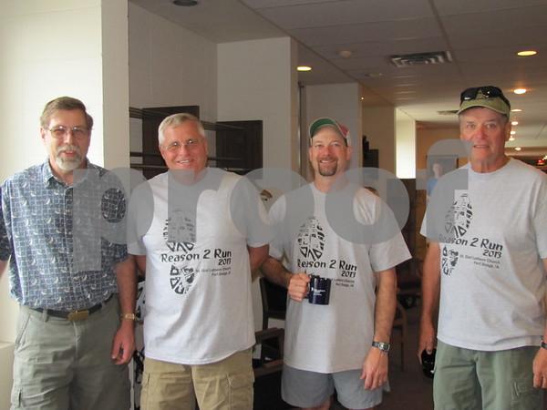 Larry Rohrer, Doug Seltz, Dr. Aaron Pieman, and Terry Hansen
