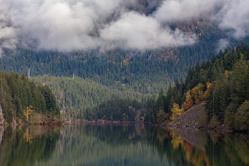Gorge Lake on N Cascades Hwy