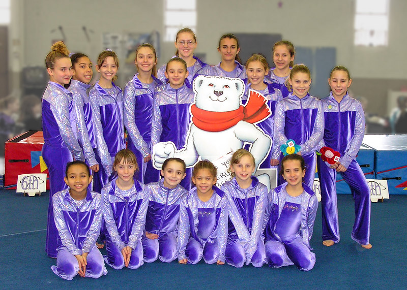 "BG's Gymnastics Team Photo<br /> <br /> file #:  9023 a1 5X7<br /> <br />      Help us assure your satisfaction with purchased prints and gifts - PLEASE click ""prints & gifts"" below for important ordering information. Thank You!"