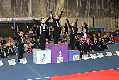 Level 4 Age 8 (Senior) : ALL AROUND