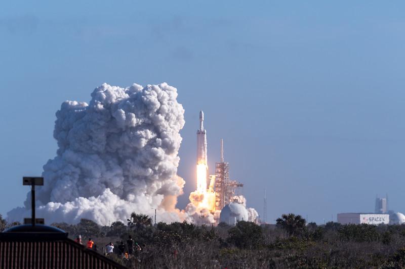 Falcon Heavy Launch 2018