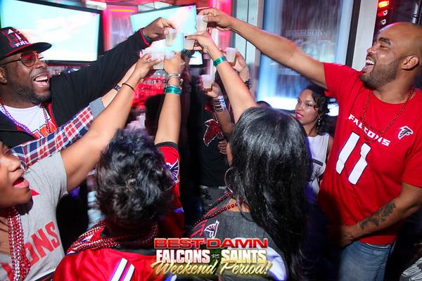 Falcons vs. Saints Day 1