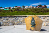 The Gibralter Monument in Stanley the Capital of the Falkland Islands on East Falkland, British Overseas Territory.