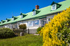 A row house in Stanley the Capital of the Falkland Islands on East Falkland, British Overseas Territory.