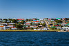 Stanley the Capital of the Falkland Islands on East Falkland, British Overseas Territory.