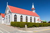 The St. Mary's Catholic Church exterior in Stanley the Capital of the Falkland Islands on East Falkland, British Overseas Territory.
