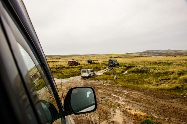 Falkland Islands and penguins.