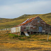 The barn on Carcass Island, Falkland Islands