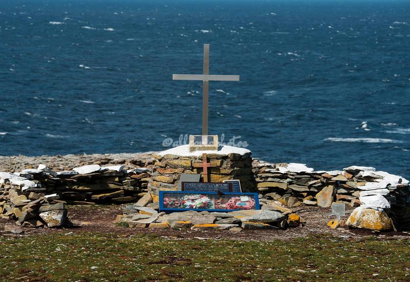 Memorial for HMS Sheffield