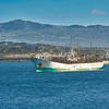Squid fishing boat, Stanley Harbor