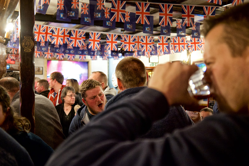 Soirée animée au Victory Bar/Port Stanley/East Falkland/ Iles Falkland (Iles Malouines)