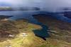 Une ferme isolée dans les étendues sauvages de West Falkland/ Iles Falkland (Iles Malouines)