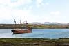 Epave du Lady Elizabeth à Port Stanley/East Falkland/ Iles Falkland (Iles Malouines)