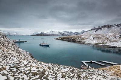 Gritviken Harbour