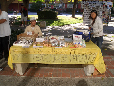 Chapter Bake Sale (10/18/06)