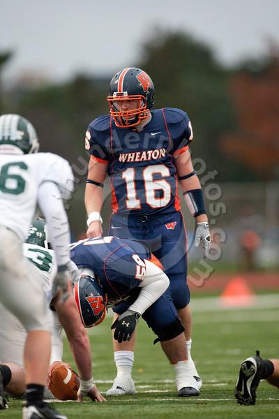 Wheaton College Football vs Illinois Wesleyan University (44-10)