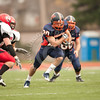 Wheaton College Football vs Carthage (30-35), Last game of the season