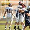 Wheaton College Football at Elmhurst (27-24), October 9, 2010