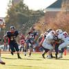 Wheaton College Football vs North Central (6-28), November 6, 2010