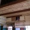 The Barn was build bu shipbuilders so it is build like an upside down ship.