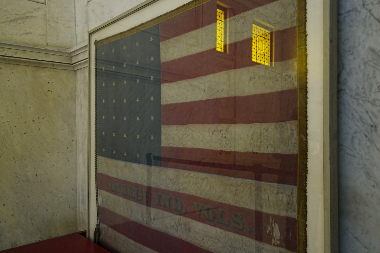 Flag at Grant's Tomb