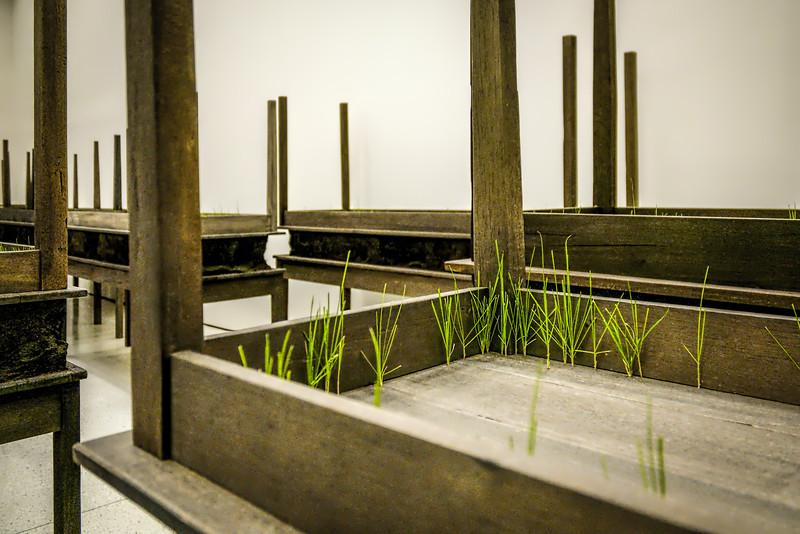 Doris Saucedo work at Guggenheim, NYC