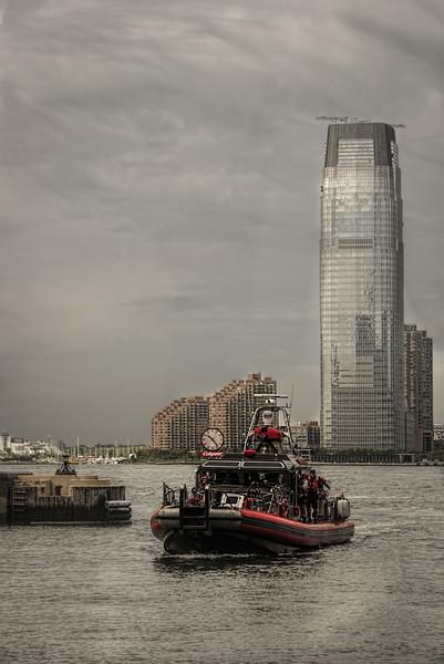 NYC waterfront scene