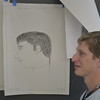 Orientation Drawing Class Portraits