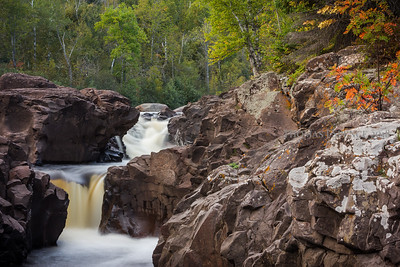 Temperance River - last day of summer