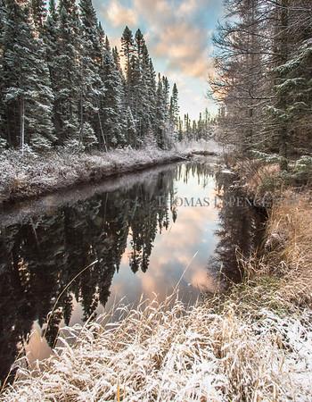 Sawbill Snowfall
