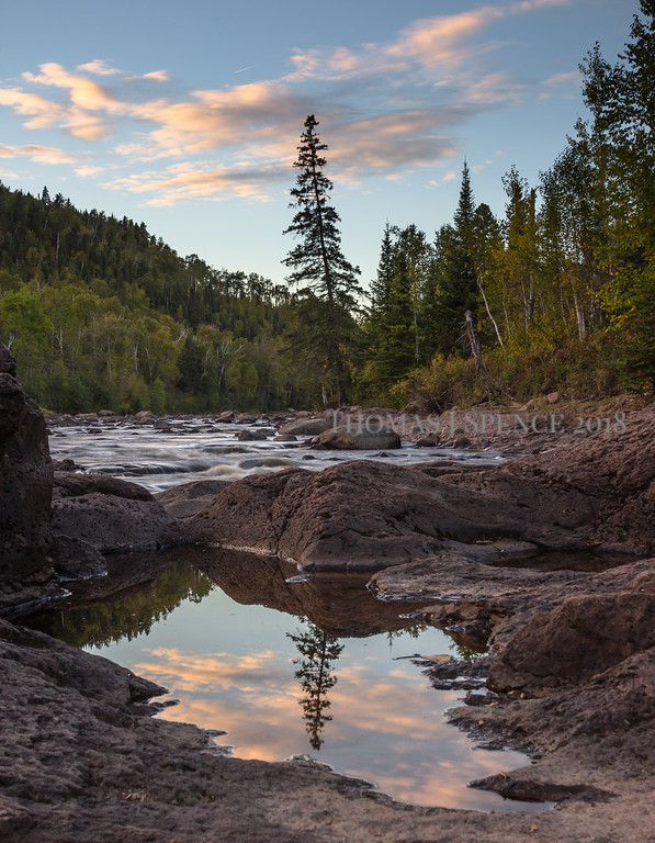 Reflecting On Summer - Temperance River