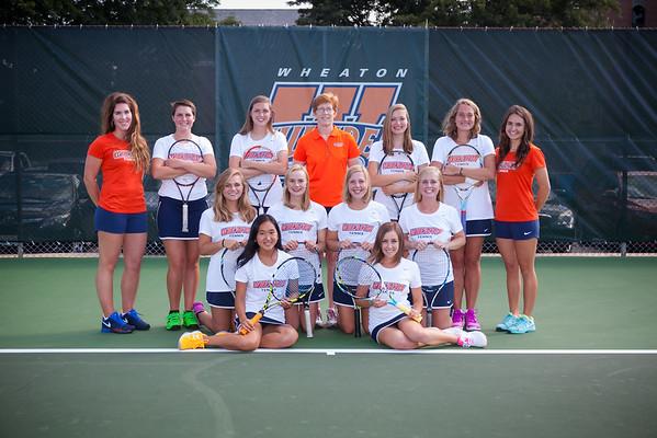 Wheaton College 2016-17 Women's Tennis