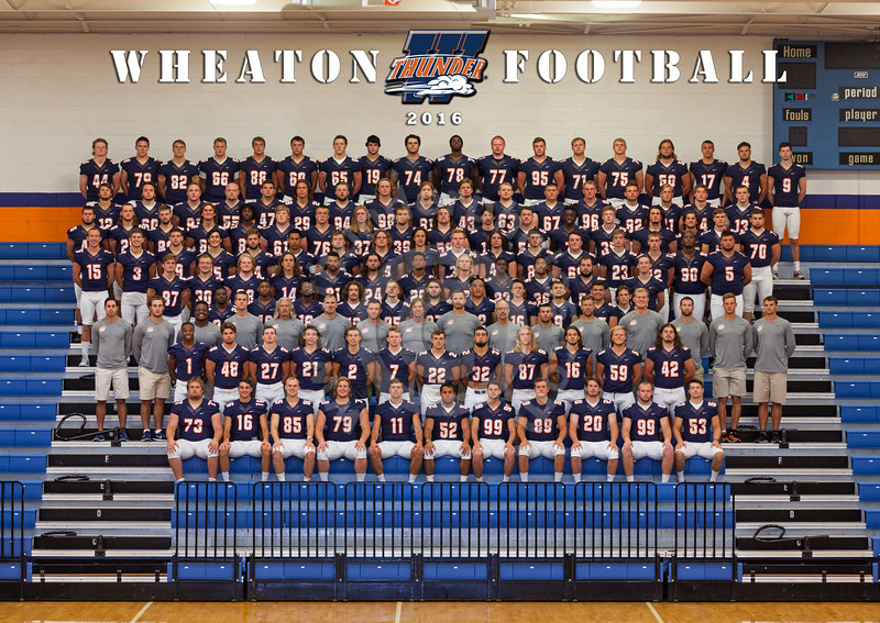 Wheaton College 2016 Football Team