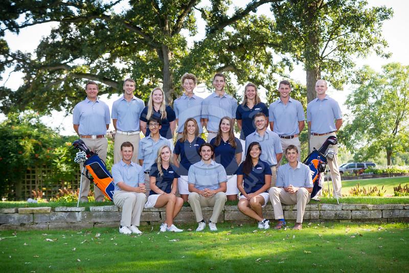 Wheaton College 2016-17 Men's and Women's Golf Teams