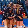 Wheaton College Volleyball vs University of Chicago (3-1)