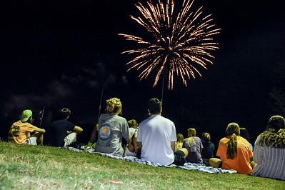 Band & Fireworks