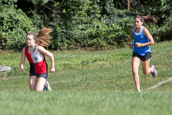 Cross Country Scrimmage at Landon