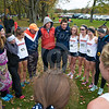 Wheaton College Cross Country at CCIW Championships, St James Farm, Warrenville (Wheaton women take first place)